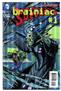 Superman-#23.2-Brainiac-#1-3-D Variant-New 52-2nd Print-NM
