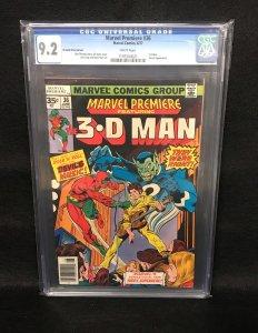Marvel Premiere #36 (Marvel, 1977) CGC 9.2