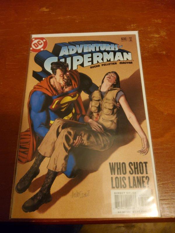 Adventures of Superman #632 (2004)