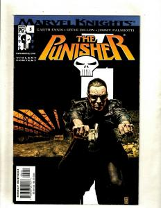 Lot of 8 The Punisher Marvel Comic Books #5 6 7 8 9 10 12 14 HY7