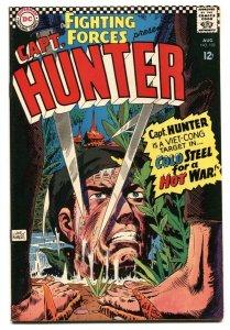 OUR FIGHTING FORCES #102 1967-DC-JOE KUBERT-CAPT HUNTER-VIETMAN WAR-vf+