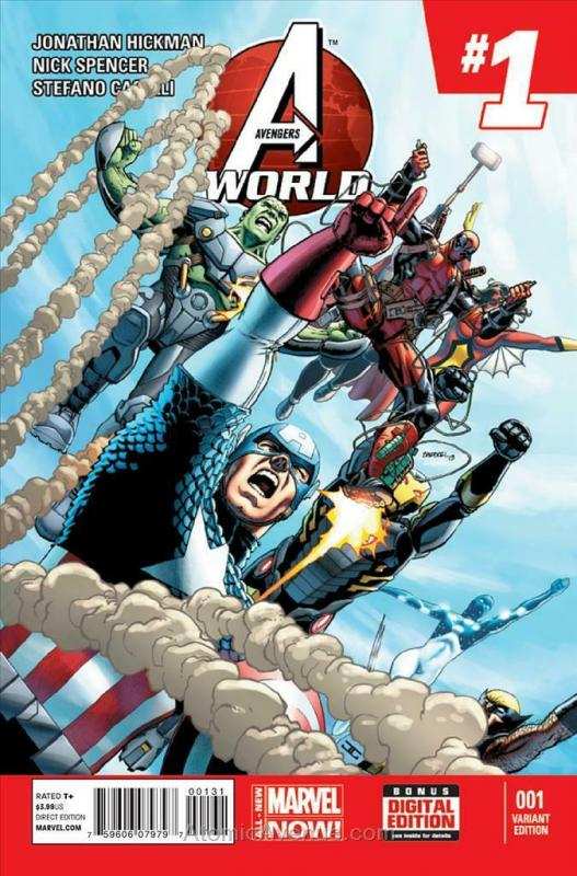 Avengers World #1B VF/NM; Marvel | save on shipping - details inside