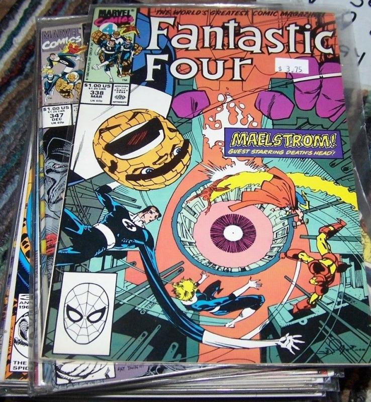 FANTASTIC FOUR #338  Marvel     COPPER AGE  deaths head