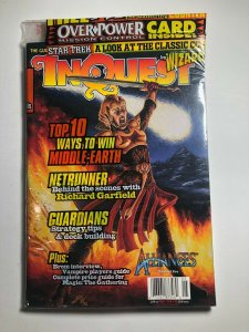 SEALED INQUEST MAGAZINE #13 MAY 1996 included MTG promo card (A547)