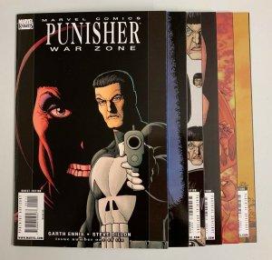 Punisher War Zone #1-6 Set (Marvel 2008) 1 2 3 4 5 6 Garth Ennis (8.5+)