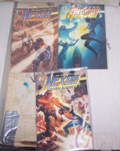 Nexus: Alien Justice #1 2 3 1992, Dark Horse  MIKE BARON AND STEVE RUDE