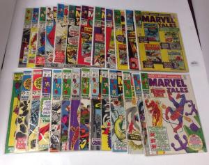 Marvel Tales 1-33 FN Some Lower Lot Set Run Missing 1 2 3 27 28 31