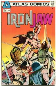 Iron Jaw #1 1975-NEAL ADAMS ART-Atlas Seaboard VF/NM
