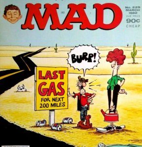 Mad Magazine March 1982 No 229 James Bond 007 For Your Eyes Only The Family Feud