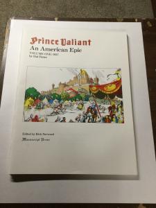 Prince Valiant An American Epic Volume 1 2 3 One Two Three Nm Manuscript Press