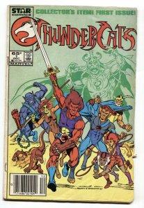 Thundercats #1 DC comic book 1985- 1st issue cartoon comic book