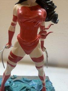 "1996 Marvel ELEKTRA Statue, Limited  212/2500 *No Box Approximately 10"""