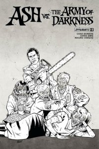 ASH vs ARMY OF DARKNESS #2, VF/NM, Variant, Bruce Campbell, 2017, more AOD in st