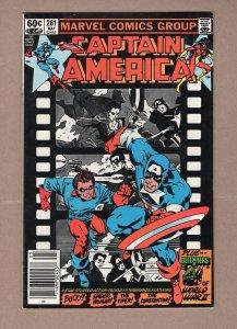 Captain America #281 FN