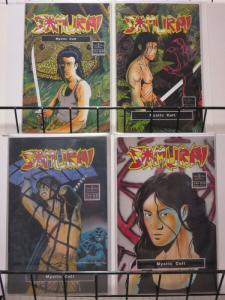 SAMURAI MYSTIC CULT (1992 NW) 1-4 Barry Blair COMPLETE!