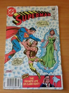 Superman #373 ~ FINE - VERY FINE VF ~ 1982 DC Comics