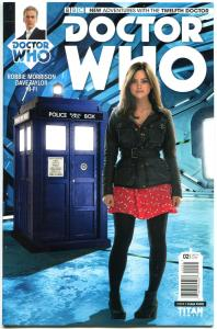 DOCTOR WHO #2 C, NM, 12th, Variant, Tardis, 2014, Titan, 1st, more DW in store