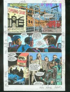 ORIGINAL D.C. COLOR GUIDE ROBIN ANNUAL #2 PG 17-SIGNED VG
