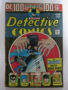 DETECTIVE 438 VERY GOOD January 1974 MANHUNTER COMICS BOOK