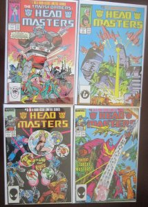 Headmaster Comics Set # 1 - 4 - 8.0 VF - 1987