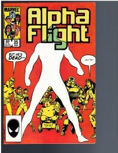 Alpha Flight #25 (1985)