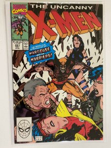 Uncanny X-Men #261 direct edition 6.0 FN (1990)