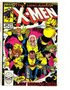 6 Uncanny X-Men Marvel Comic Books # 254 255 257 258 259 260 Wolverine CR57