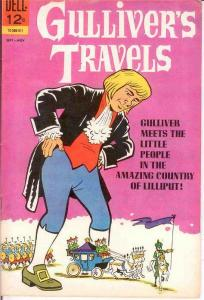 GULLIVERS TRAVELS 1 VF  Sept.-Nov. 1965 COMICS BOOK