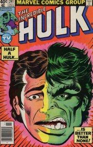 Incredible Hulk, The #241 (Newsstand) FN; Marvel | save on shipping - details in