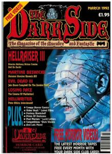 DARK SIDE (BRITISH) 18 (W/CARD; MARCH 1992) VF HELLRAIS
