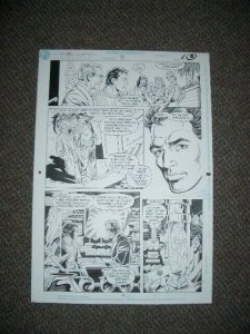SUPERBOY #19 PAGE 6 ORIGINAL COMIC ART 1991-JIM MOONEY  FN
