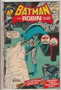 Batman #240 (Mar-72) FN/VF+ Mid-Grade Batman