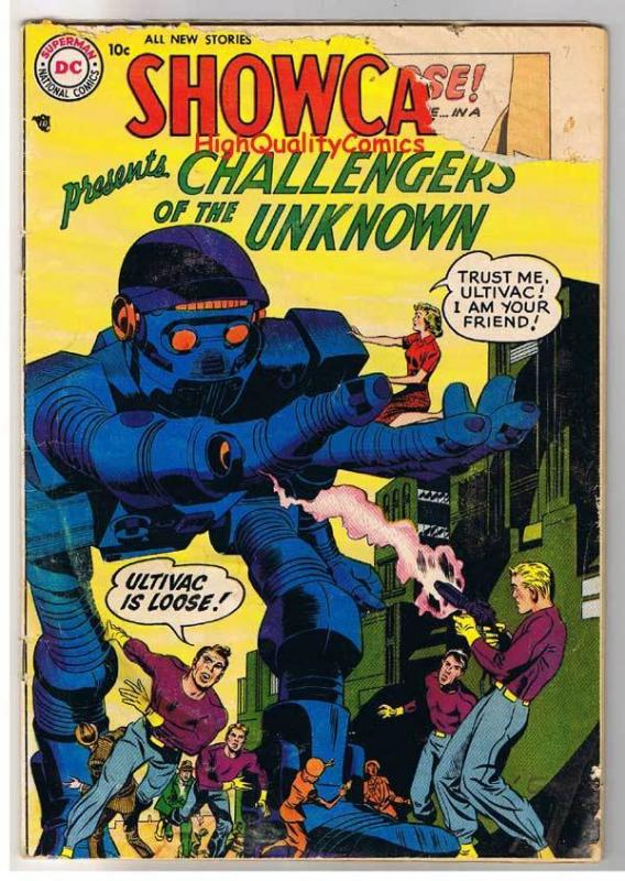 SHOWCASE #7, GD/GD+, 2nd Challengers of the Unknown, 1956