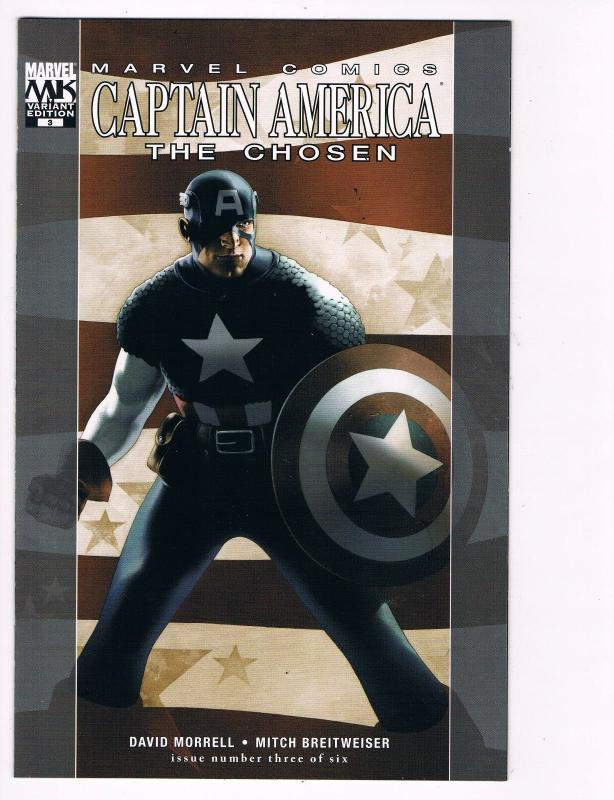 Captain America The Chosen # 3 Marvel Comic Books Great Issue Modern Age!!!! S25