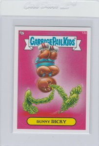 Garbage Pail Kids Runny Ricky 13a GPK 2014 Series 1 trading card sticker