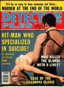 Detective Files 5/1982-Globe-spicy woman-hit-man-Casanova Cleric-VG