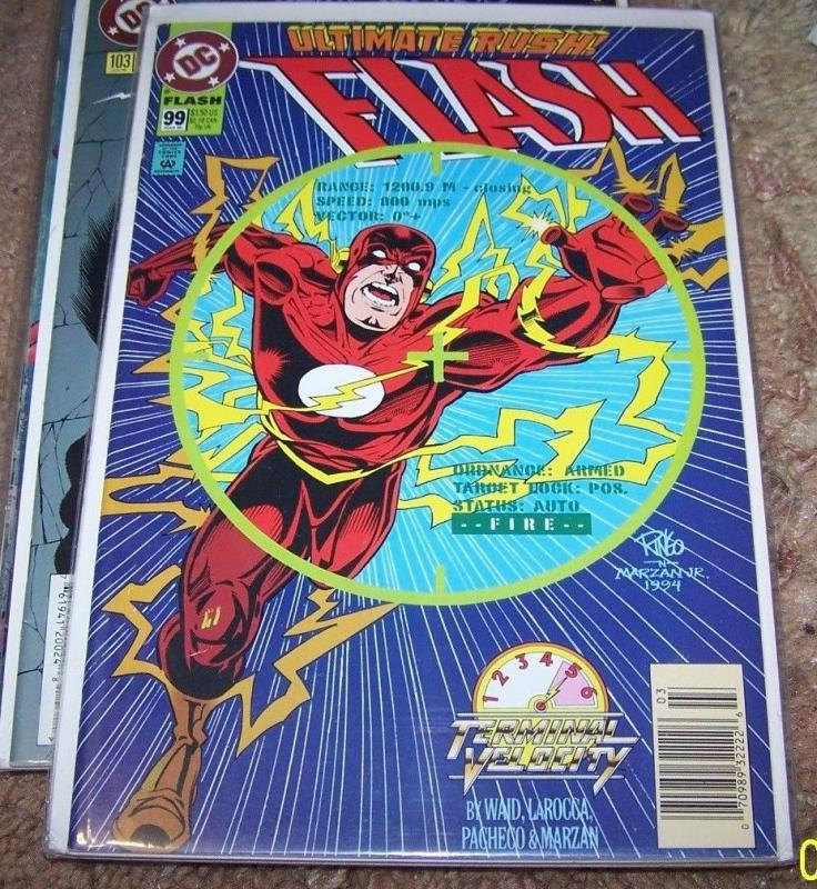 FLASH COMIC # 99 HOT cw tv show terminal velocity pt 5 WALLY WEST