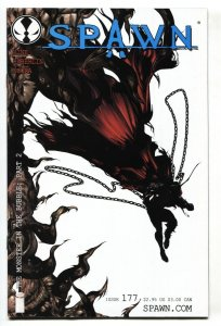 SPAWN #177 2008 Low print run-Image comic book