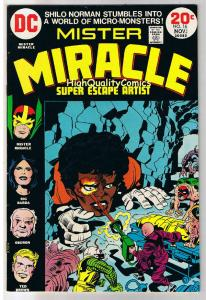 MISTER MIRACLE #16, VF, Jack Kirby, 4th World, 1971,more JK in store,Bronze age
