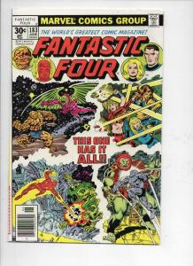 FANTASTIC FOUR #183, FN/VF, Battle Ground, Sinnott, 1961 1977, more FF in store