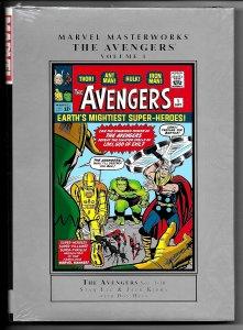 Marvel Masterworks Avengers HC Hardcover Vol 1 - New/Sealed