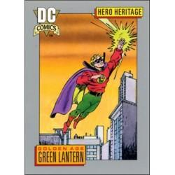 1991 DC Cosmic Cards - GOLDEN AGE GREEN LANTERN #7