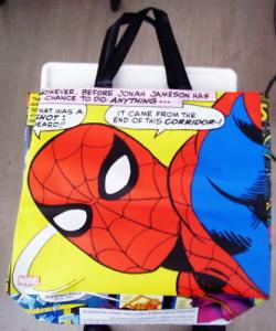 Marvel Comics Reusable Bags