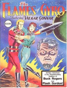 FLAMES OF GYRO 1 ( 2.00 cvrpr) VF SPACE OPERA A LA BUCK