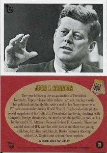 2013 Topps 75th Anniversary #31 John F. Kennedy > JFK > 1964
