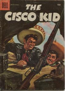 Cisco Kid #30 1955-Dell-painted cover-Bob Jenny art-VG