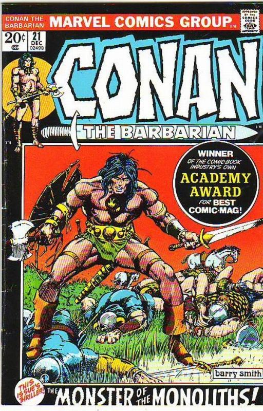 Conan the Barbarian #21 (Dec-72) FN/VF Mid-High-Grade Conan the Barbarian