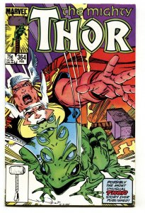 Thor #364 comic book 1983-First Frog THOR-Marvel NM-