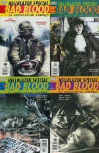 HELLBLAZER SPECIAL BAD BLOOD (2000 VERTIGO) 1-4