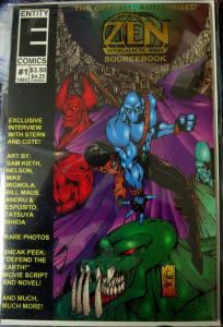 ZEN INTERGALACTIC NINJA - Lot of 9 issues All #1s Eternity Comics